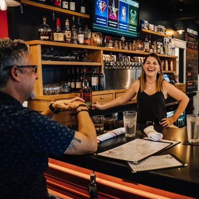bar candid